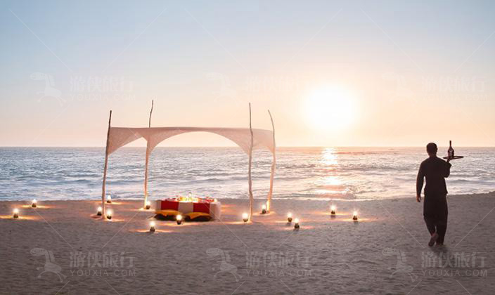 港丽岛沙滩晚宴
