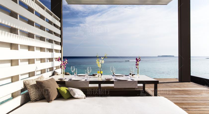 马尔代夫白马庄园风景