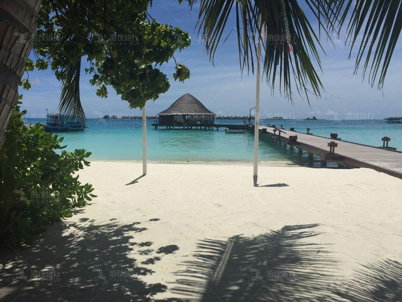 面积超大的细腻沙滩