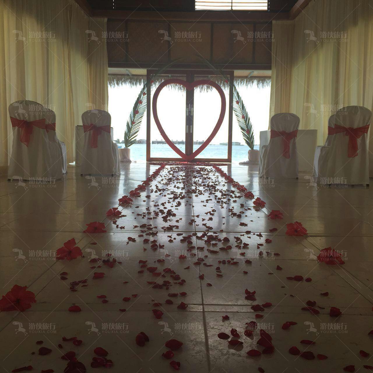婚礼婚纱摄影布置