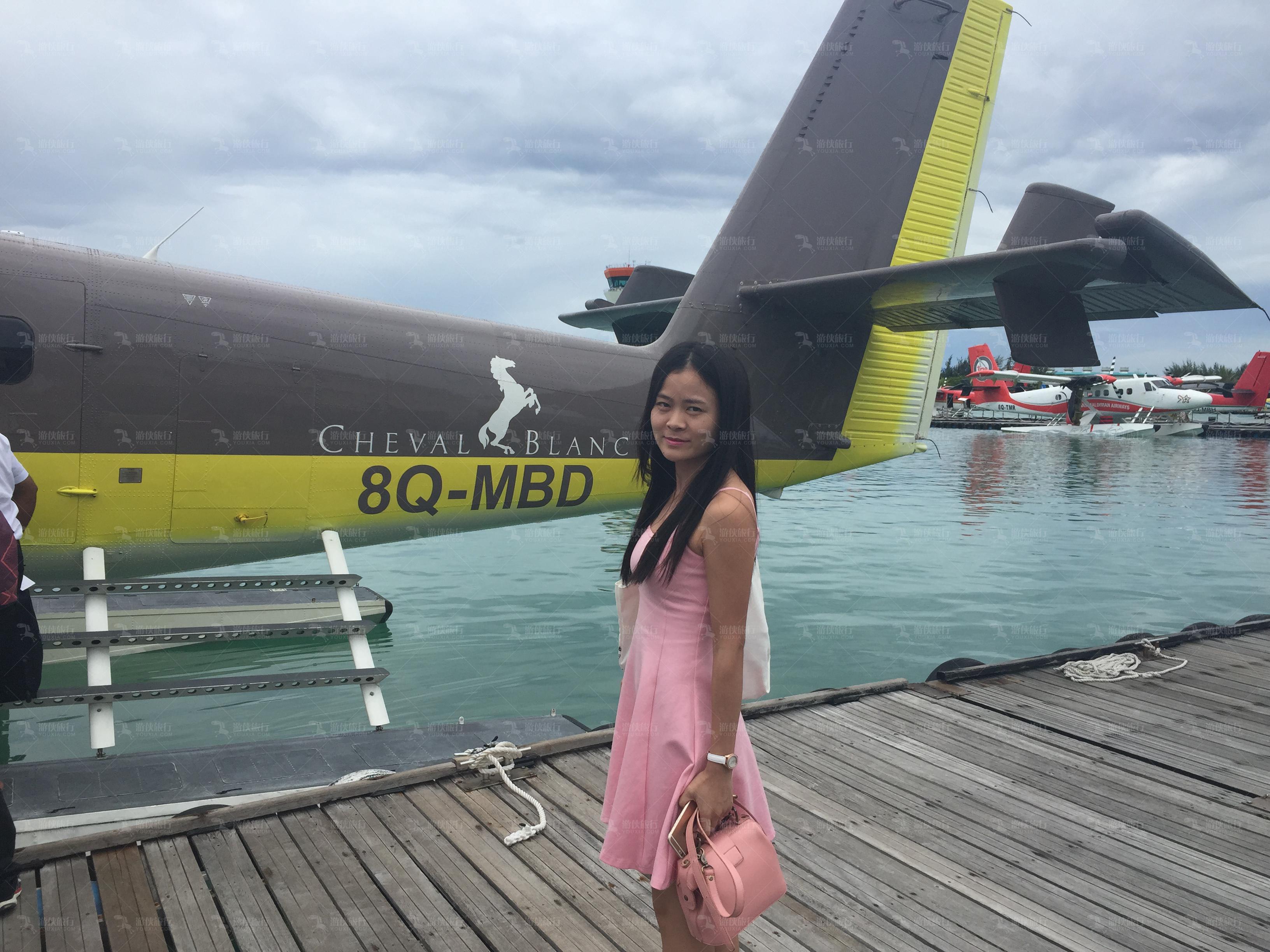 白马庄园水飞机