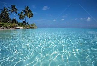 马尔代夫大海