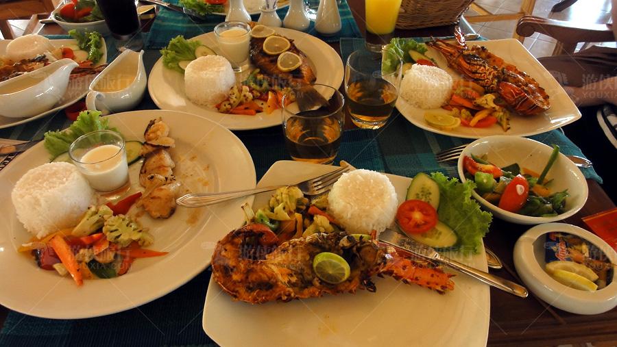 丰富的海鲜大餐