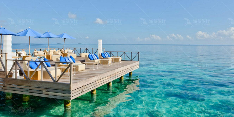 马尔代夫最大的游泳池