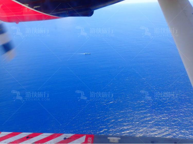 印度洋比内陆飞机更清晰壮观