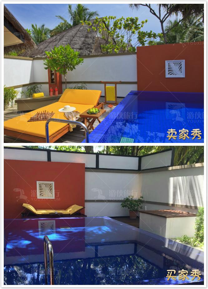 薇拉瓦鲁的私人游泳池