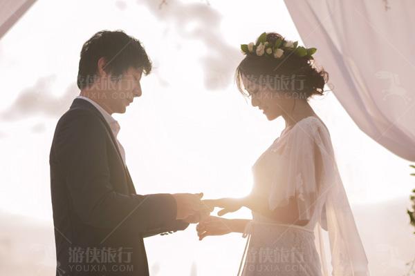 天堂岛婚礼