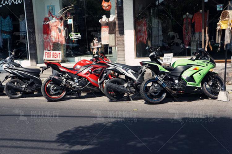 可出租的摩托车