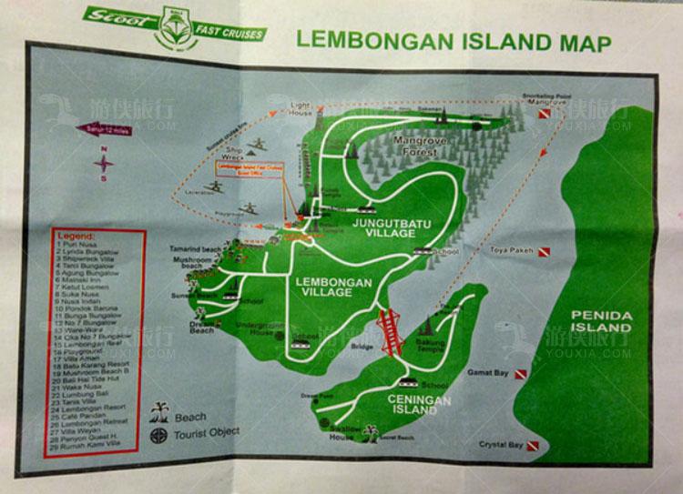 蓝梦岛小地图