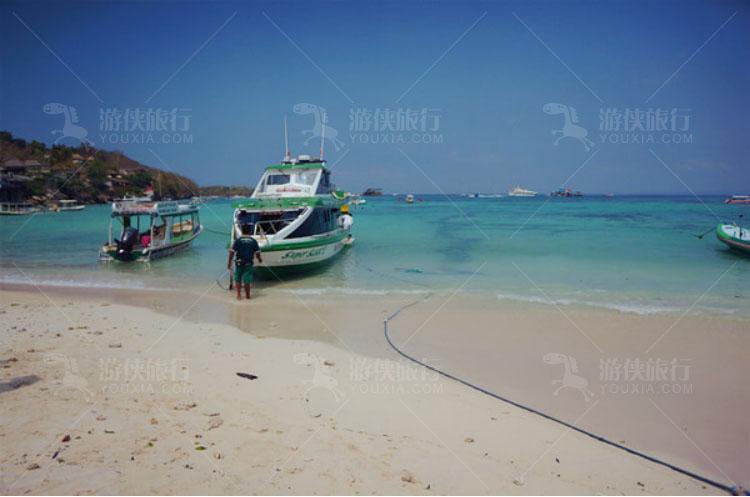 蓝梦岛的码头