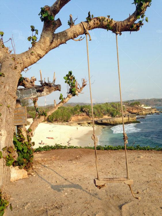 蓝梦岛最美的秋千