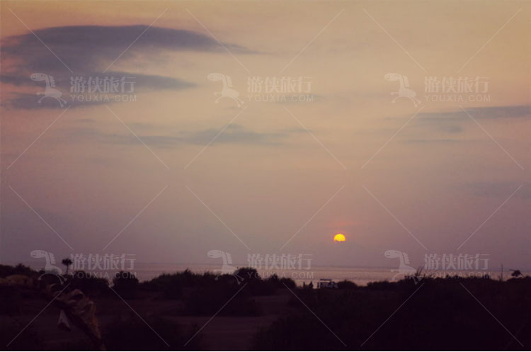 太阳开始西斜
