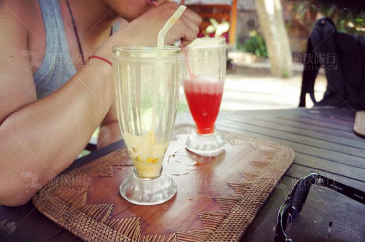 西瓜汁和哈密瓜汁