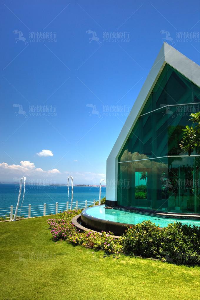 玻璃教堂,阿雅娜度假酒店。
