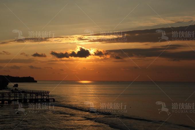 金巴兰的日落