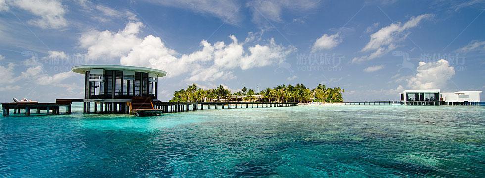 马尔代夫就能享受到迪拜七星级帆船酒店式服务