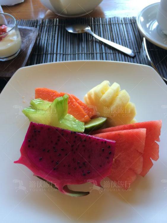 Bali酒店的早餐