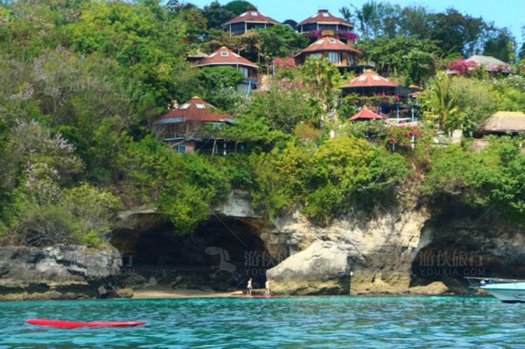度假村,建在悬崖之上