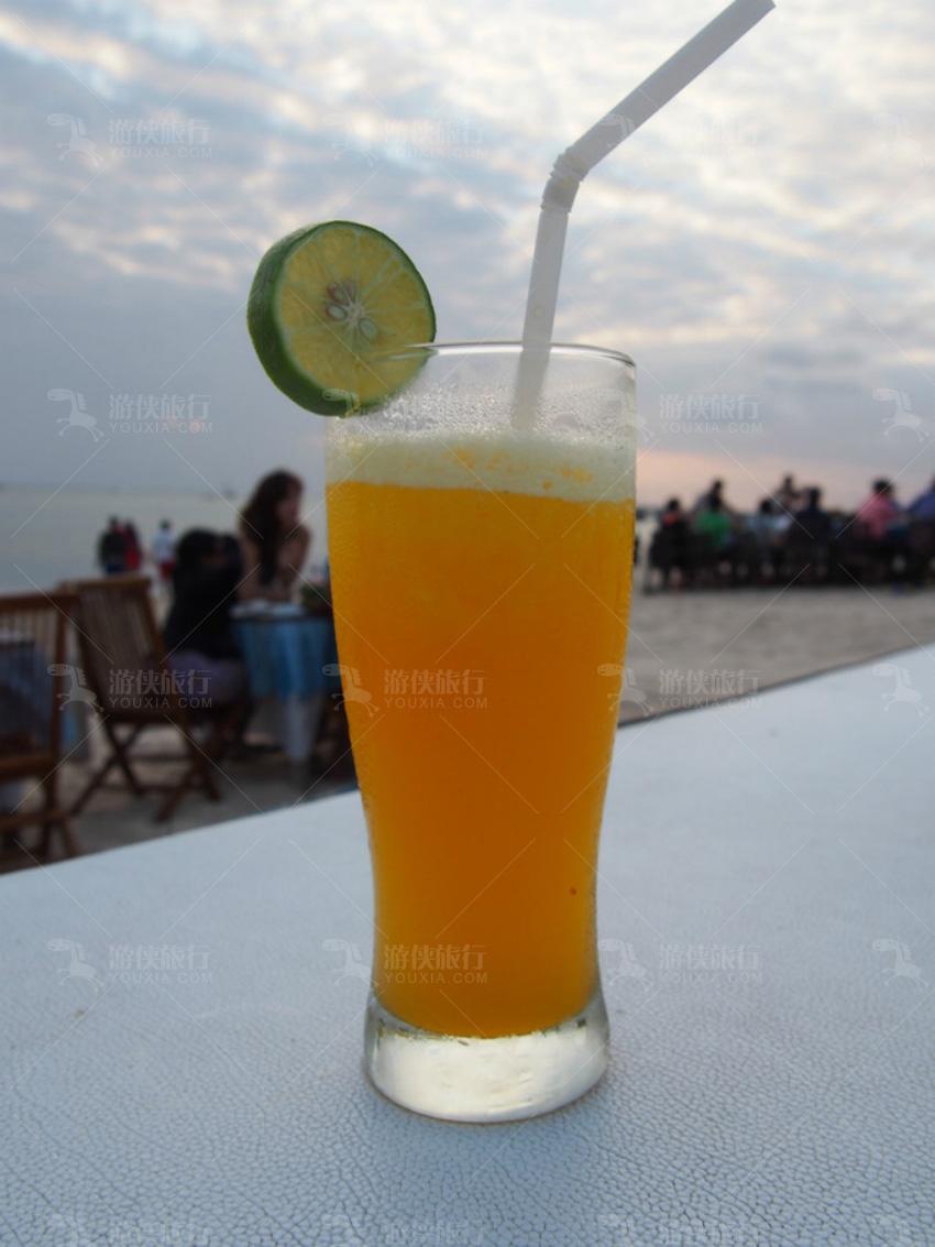 巴厘岛的果汁