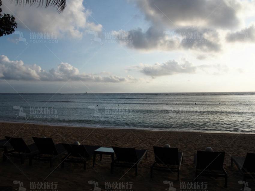 努沙杜瓦的海滩