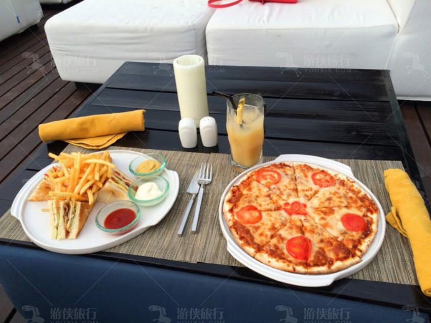 披萨和三明治