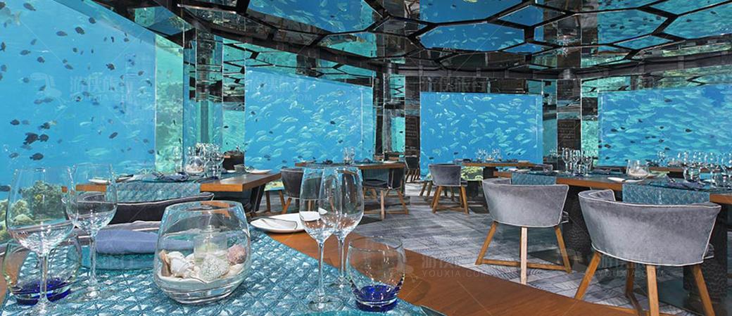 AKV别具特色的水下餐厅