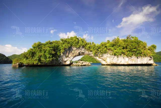 帕劳的海有7种颜色