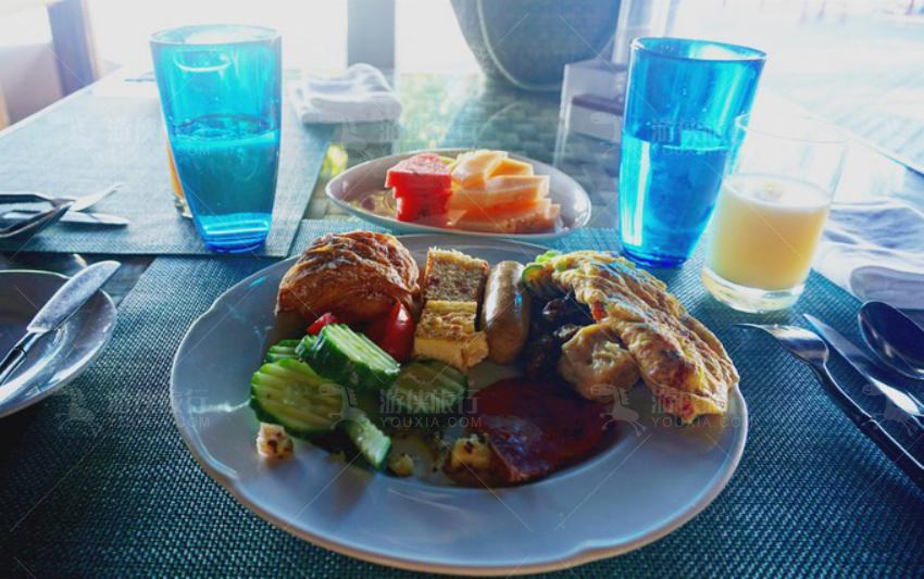 波杜希蒂第一个丰盛的早餐