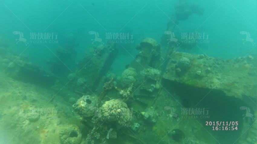 二战时期日军的沉船