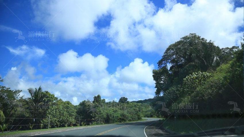 去往北岛的高速公路