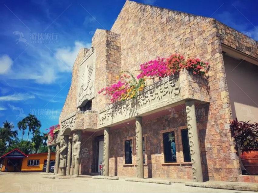 帕劳市中心的街景