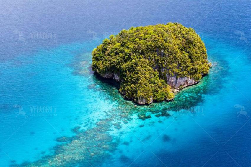 一个小岛屿