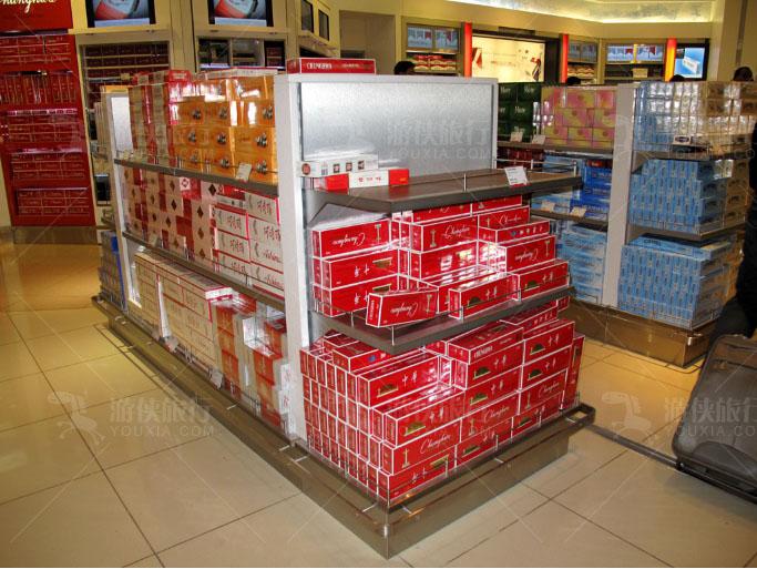 迪拜机场的免税店