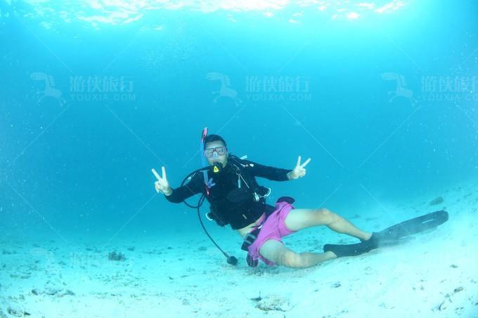 无重装潜水