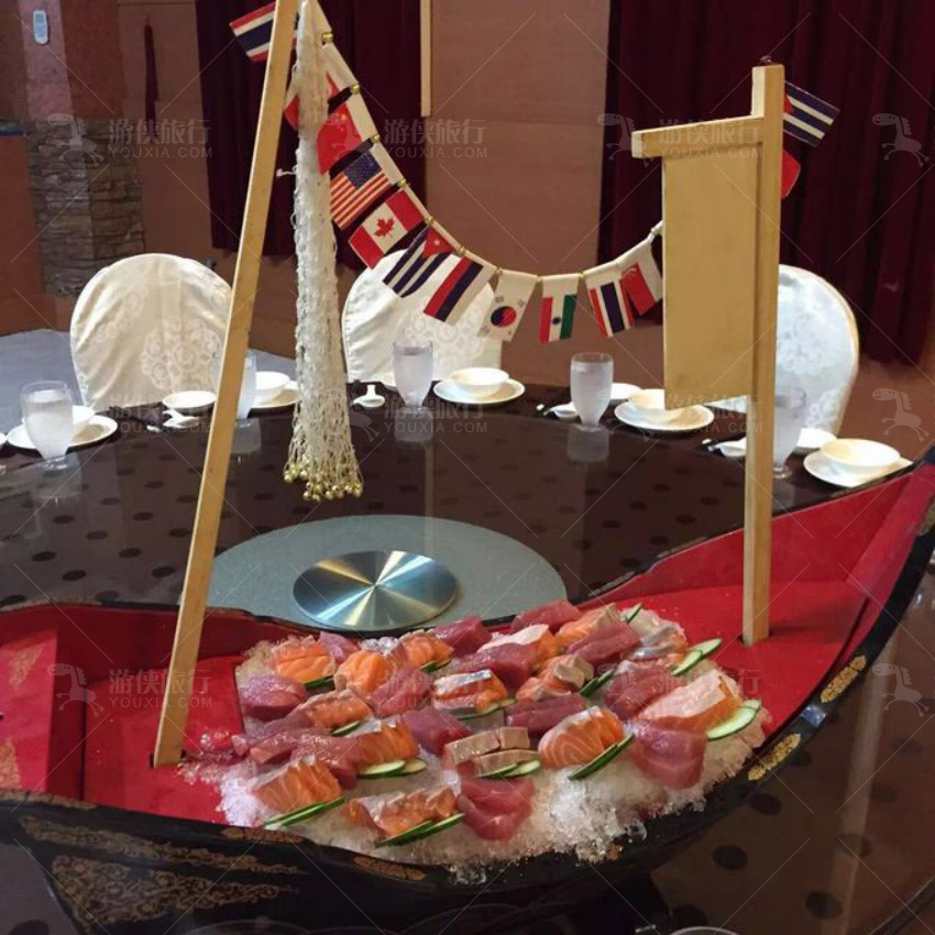 百悦大 饭店的围餐