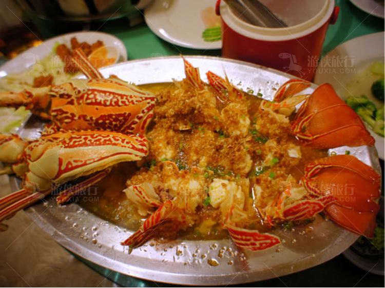 帕劳的海鲜