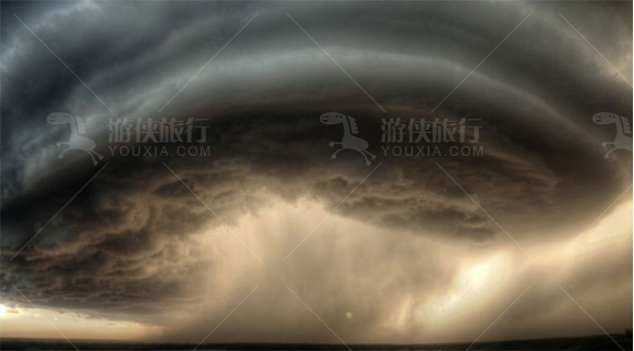 蒙大拿州的暴风雨
