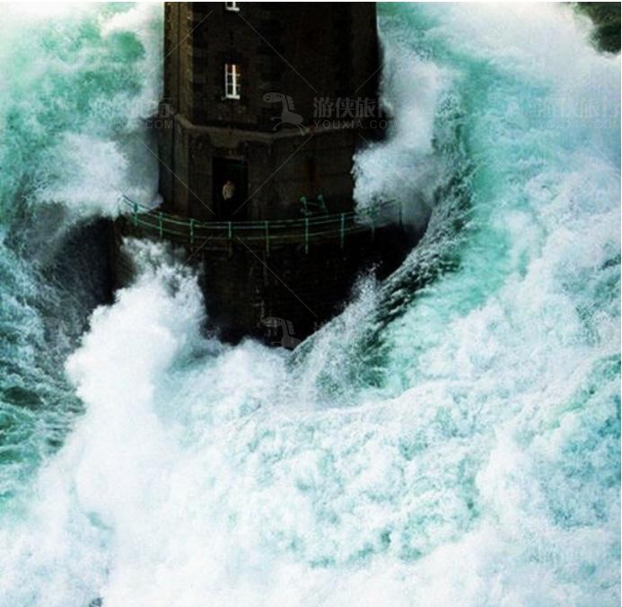 马雷岛上的守卫灯塔