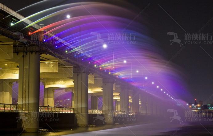 韩国的半坡大桥