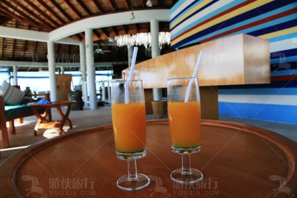新鲜芒果汁