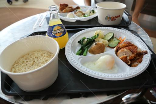 机场的早餐
