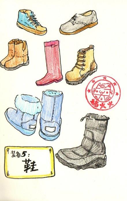 大多数人的首选是雪地靴