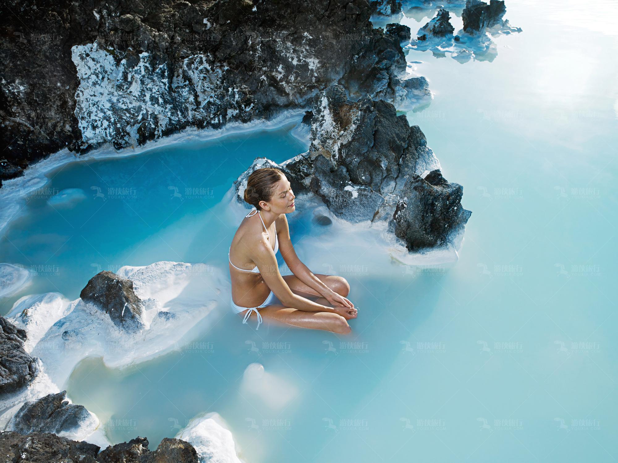 冰岛蓝湖地热温泉