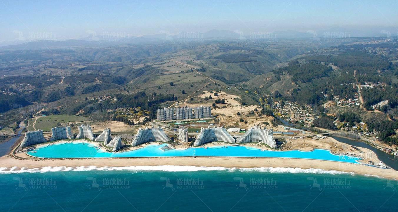 世界最大的游泳池