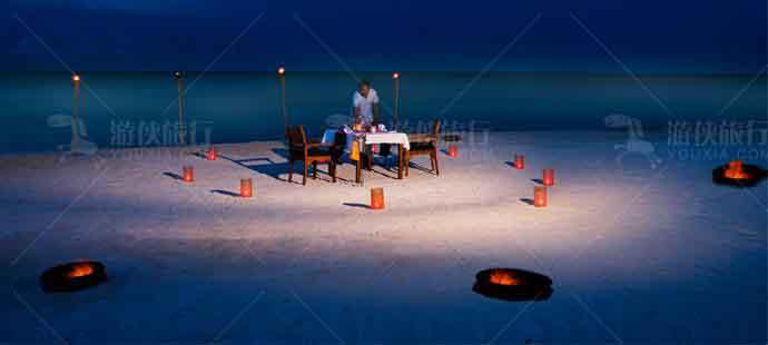 在荒岛上感受静谧平和的气息