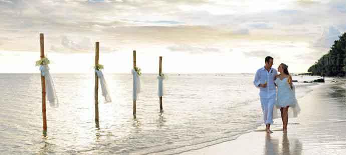 漂流岛海滩婚礼