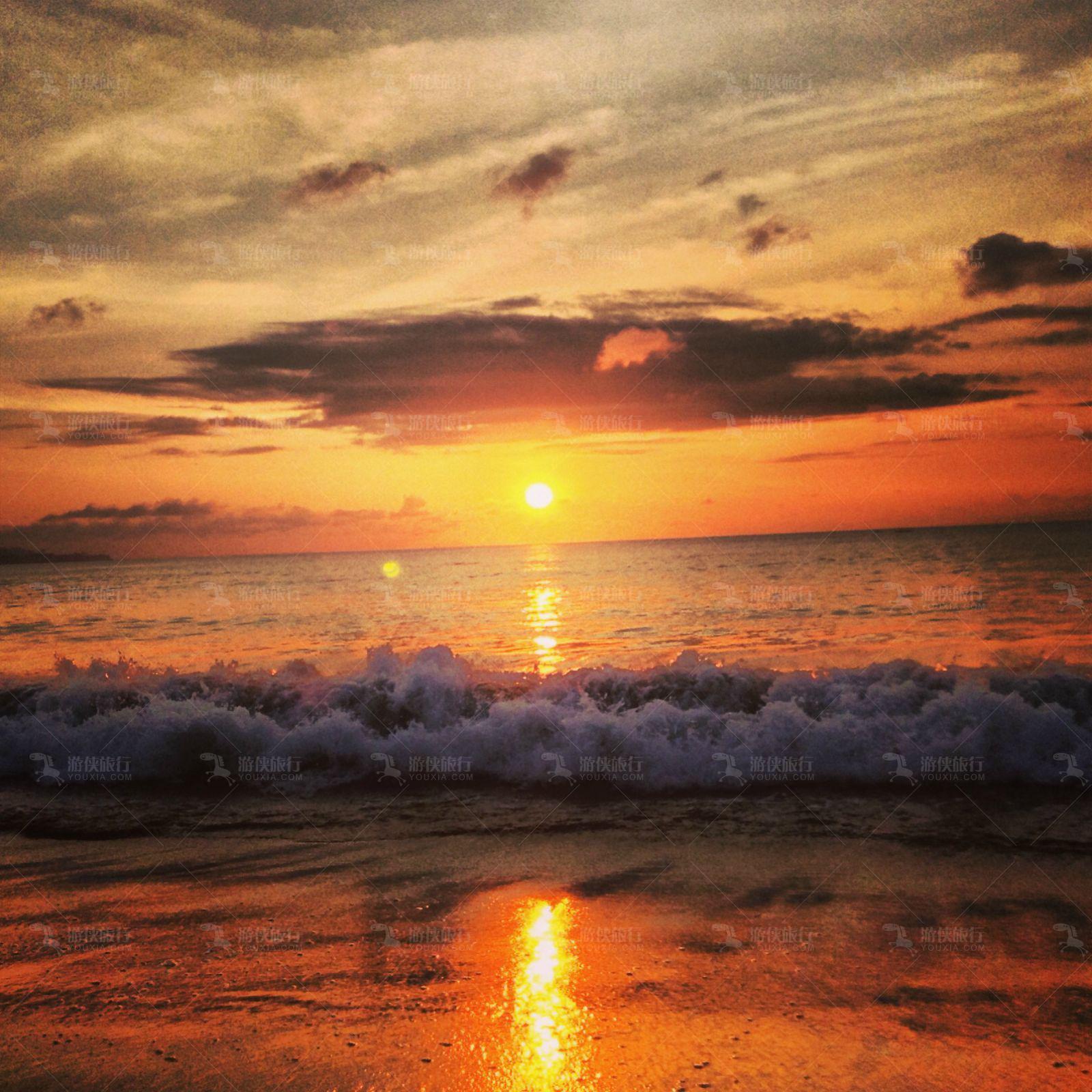 世界最美日落