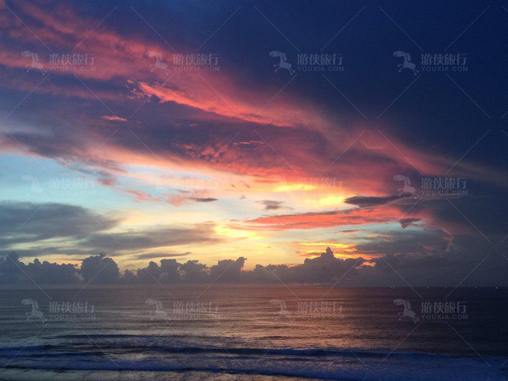 巴厘岛最有特色的黑沙滩