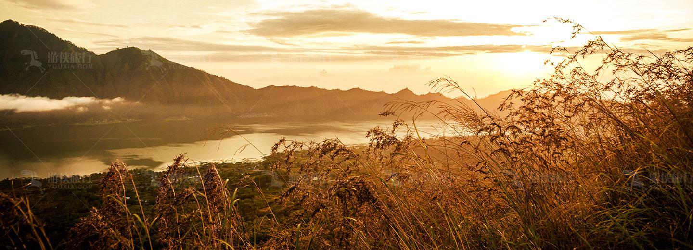 巴厘岛活火山