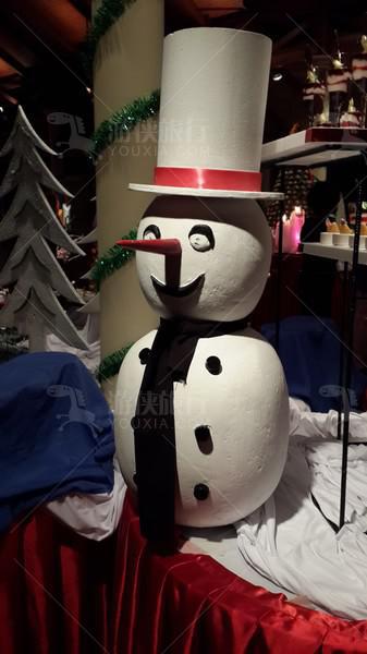 可爱小雪人